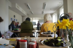 """Lokalen var liten men vi fick det att funka i sann """"glad Göteborgare-anda"""" :)"""